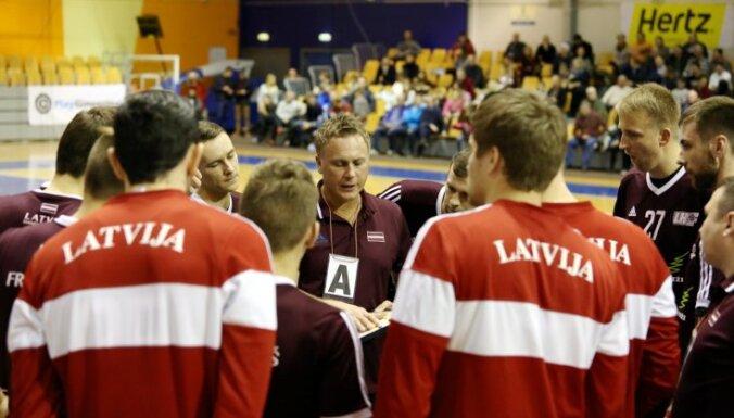 Latvijas handbolisti Eiropas čempionāta kvalifikāciju sāk ar zaudējumu slovēņiem