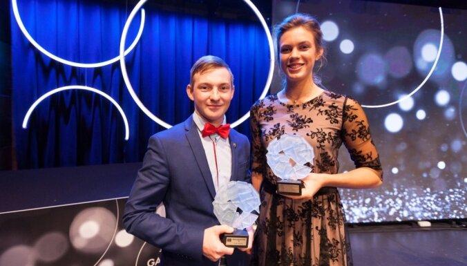 Gada sportisti Jūrmalā – Tīna Laura Graudiņa un Nikita Lijcs