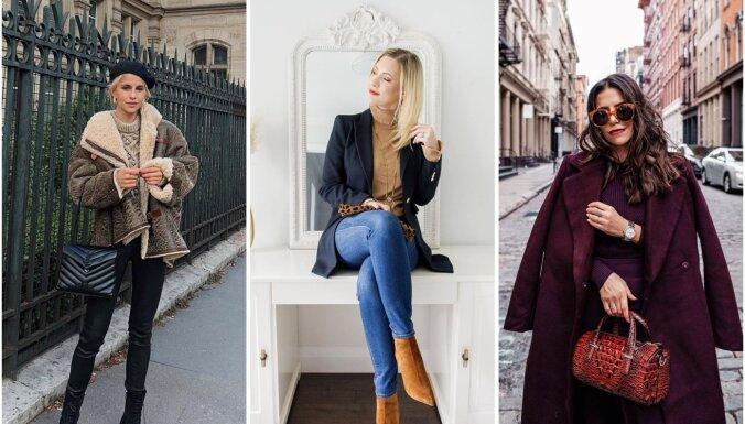 Novembra modes salikumi: 30 tērpu idejas katrai mēneša dienai
