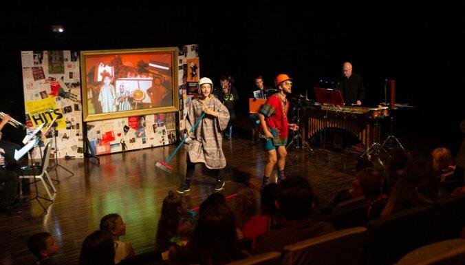 Foto: Rēzeknē aizvadīts ģimenes mūzikas festivāls 'LNSO vasarnīca'