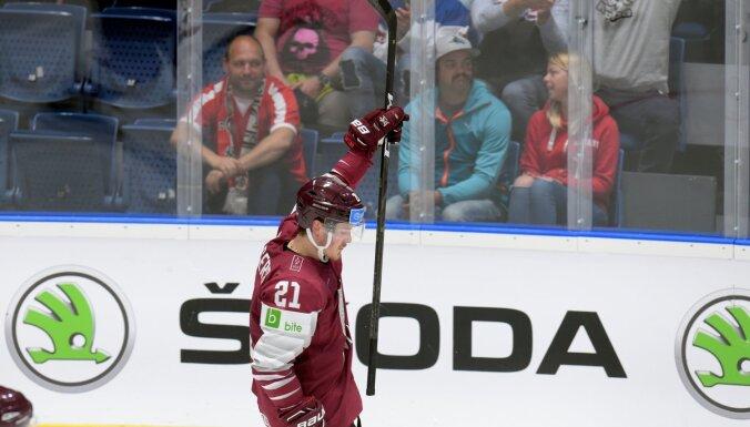 Balcers sestais rezultatīvākais PČ hokejists pēc divām spēļu kārtām