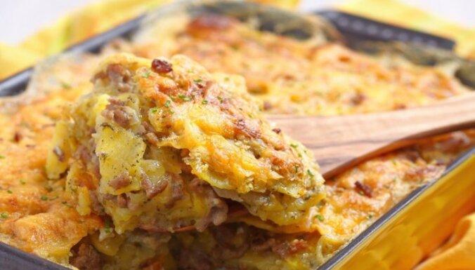 Рецепт чесночного картофеля по-итальянски