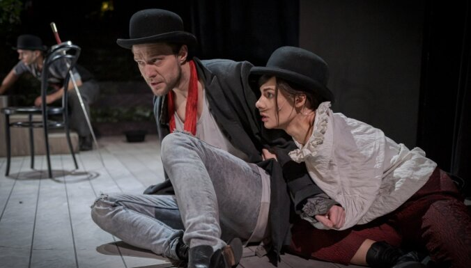 Foto: Rolands Atkočūns Dailes teātrī iestudējis izrādi 'Iemīlējies Šekspīrs'