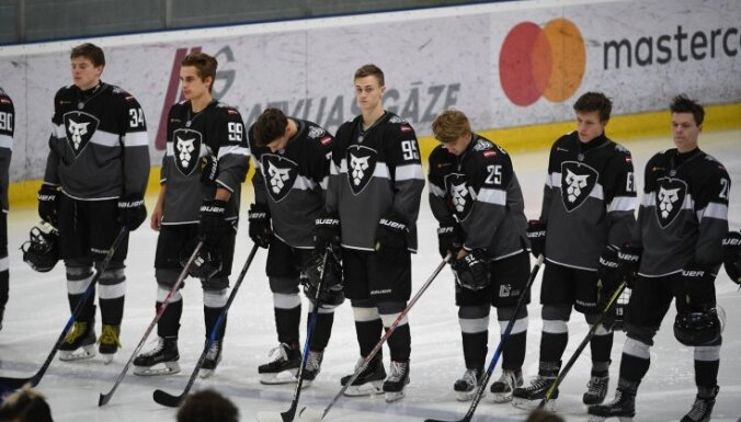 Krievijas Jaunatnes hokeja līgas mačā 'Rīga' zaudē Sanktpēterburgas 'Dinamo'