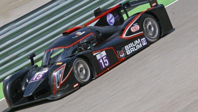 Konstantīns Calko Eiropas 'Le Mans' čempionātu noslēdz trešajā vietā