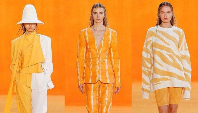 Неон, цветная кожа и мандарины: семь главных модных трендов 2020 года
