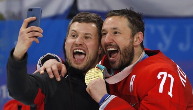 Ковальчук признан MVP хоккейного турнира Олимпиады, Гусев— лучший бомбардир