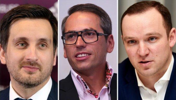 LFF krīze: ģenerālsekretāra amata kandidāti Pukinsks, Gruškevics un Ļašenko (plkst. 12.45)