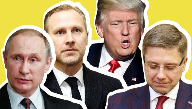 'Gangsteris' Gobzems un 'labais puisis' Ušakovs – ko par politiķiem stāsta ķermeņa valoda