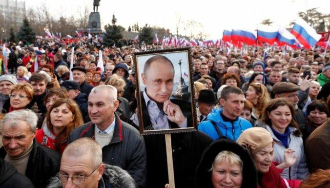 Ukraina liedz balsot Krievijas diplomātiskajās pārstāvniecībās