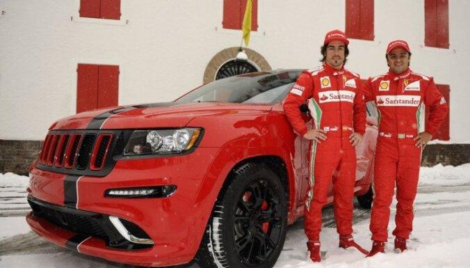 'Jeep Grand Cherokee SRT8' speciāli F1 pilotiem