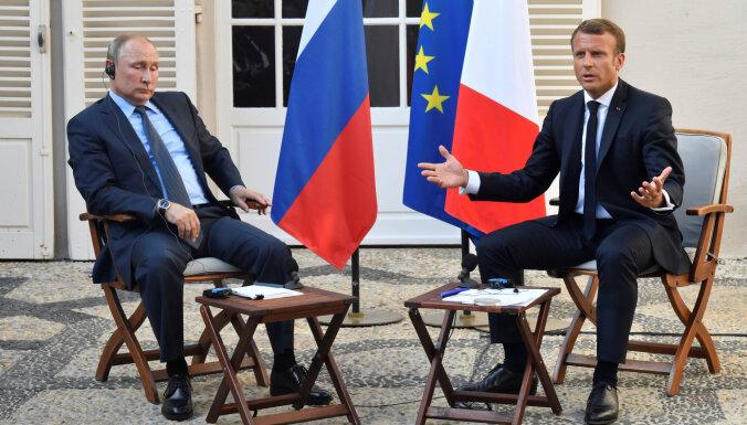 Макрон опроверг сообщения об уступках Путину по ракетному мораторию