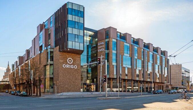 ФОТО: В новом здании Origo открыты не только торговые помещения, но и бизнес-центр