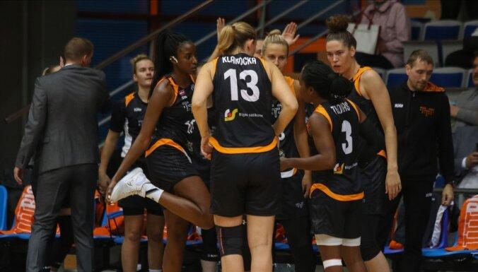 TTT basketbolistes otrajā ceturtdaļā salauž LU pretestību un svin uzvaru