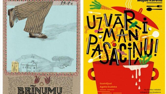 Izdotas divas slovēņu autoru bilžu grāmatas bērniem