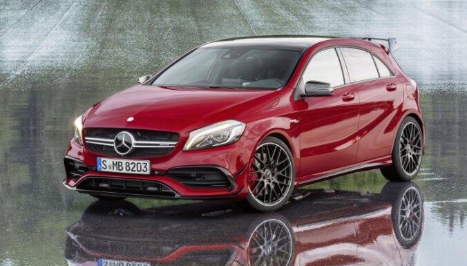 'Mercedes' A-klase pēc modernizācijas atguvusi ātrākā hečbeka titulu