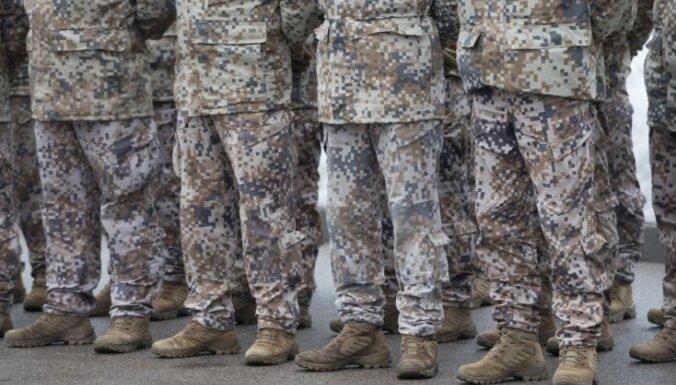 Inficēšanās ar Covid-19 konstatēta Latvijā izvietotās NATO kaujas grupas karavīriem