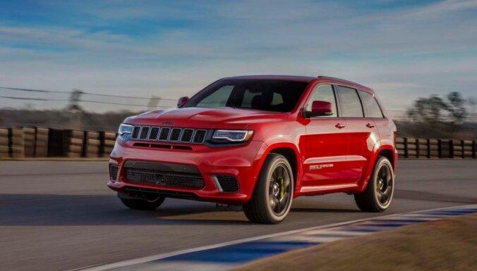 'Jeep' oficiāli atklājis 717 ZS jaudīgo 'Grand Cherokee'