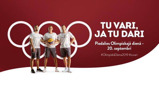 Piektdien Latviju pārņems 'Olimpiskā diena 2019'