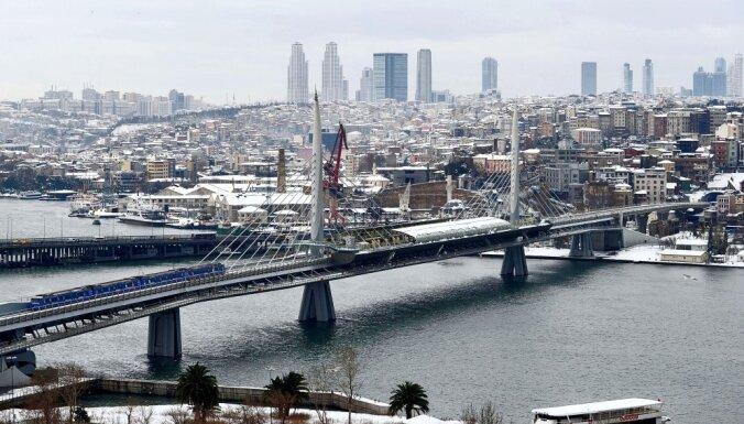 В Стамбуле землетрясение привело к панике среди населения