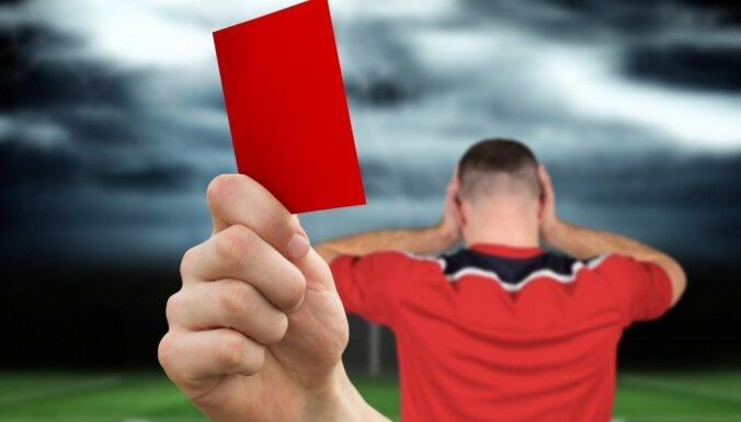 В первенстве Латвии по футболу дисквалифицированы еще три команды