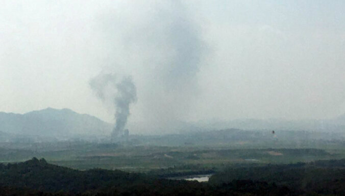 Сеул: Северная Корея взорвала межкорейский офис связи в Кэсоне