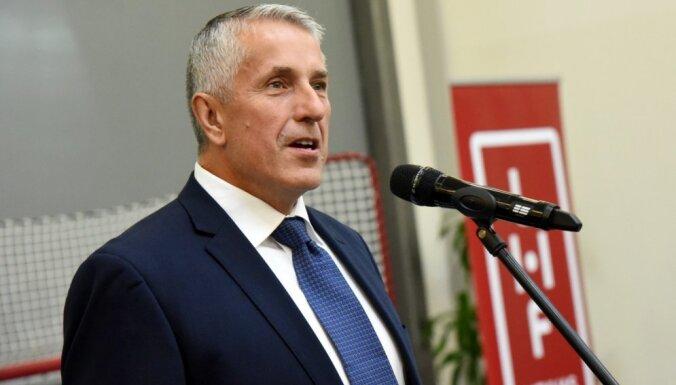 Хартли: через несколько лет нынешняя молодежь будет на ведущих ролях в сборной Латвии