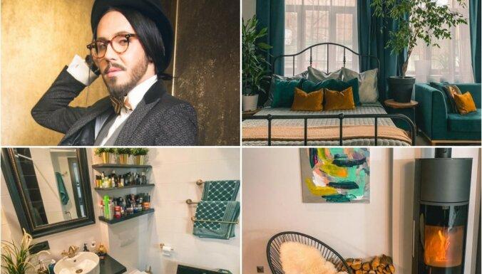 Foto: Uzņēmējs Kašers par 92 000 eiro pārdod savu šiko dzīvokli Rīgas centrā