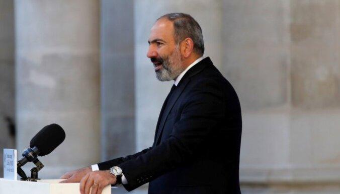 Armēnijas opozīcija noraida premjera vēlēšanu piedāvājumu