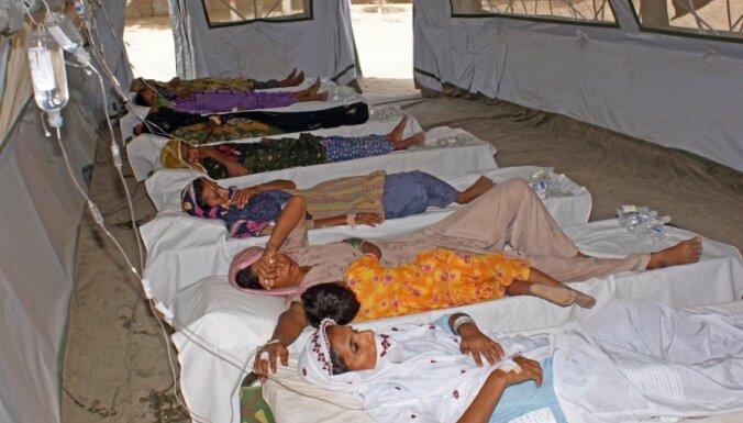 Holeras epidēmijā Haiti mirušo skaits pieaudzis līdz 1250 cilvēkiem