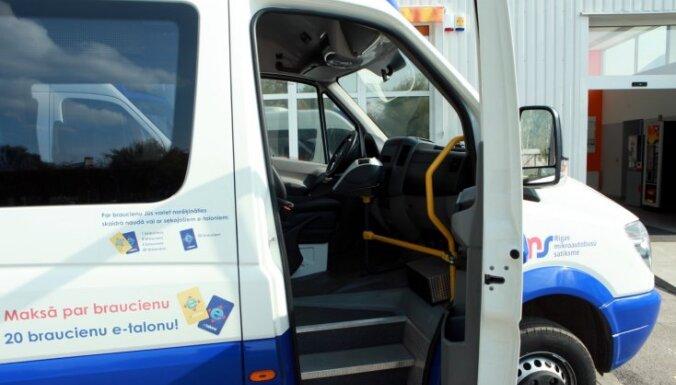 Rīgas satiksme и RMS договорились об изменениях в маршрутах микроавтобусов