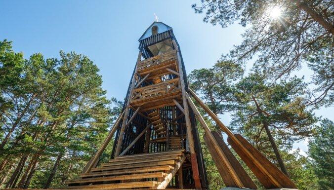 """ФОТО. Природный парк """"Бернати"""", где можно подняться на самую высокую дюну в Латвии"""