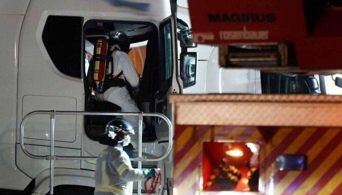 В Австрии найден мертвым дальнобойщик из Эстонии. Тело пролежало в кабине несколько дней
