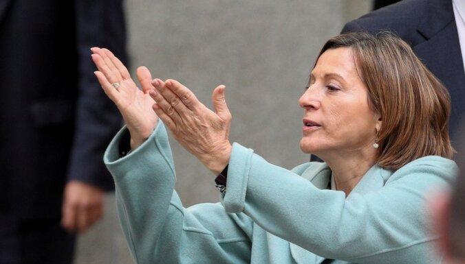 Спикер парламента Каталонии помещена под стражу