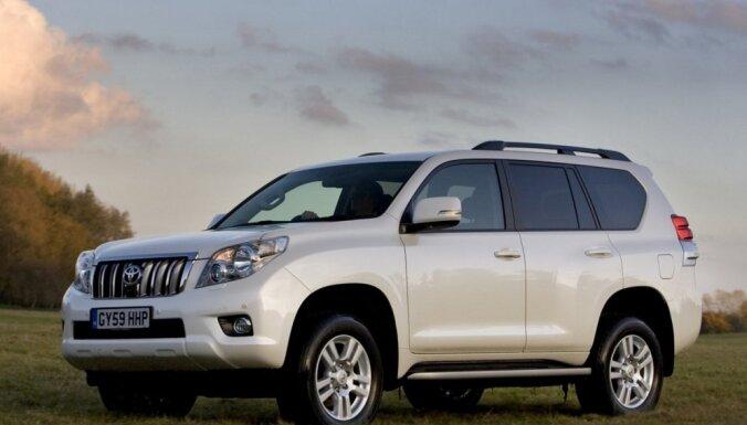 Ušakovs pārdevis savu 470 ZS jaudīgo 'Jeep' apvidnieku