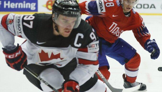 Капитан канадцев Макдэвид — автор первого хет-трика на чемпионате мира-2018