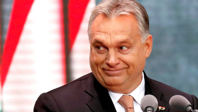 Orbans pretpadomju revolūcijas gadadienā sludina 'Eiropas impērijas' briesmas