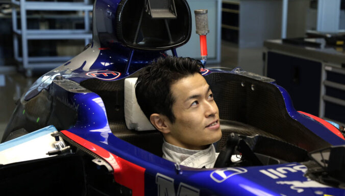'Toro Rosso' Japānas 'Grand Prix' treniņbraucienos dod iespēju Jamamoto