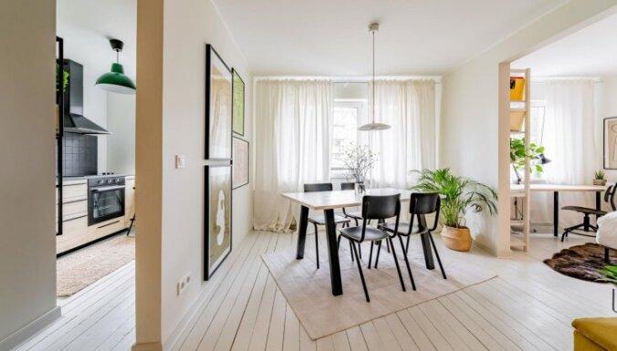 Foto: Stilīgs dzīvoklis padomju laika mājā Tallinā