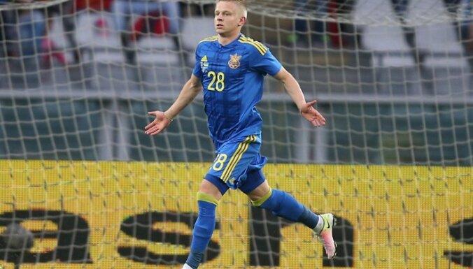 Ukraine s forward Zinchenko Oleksand