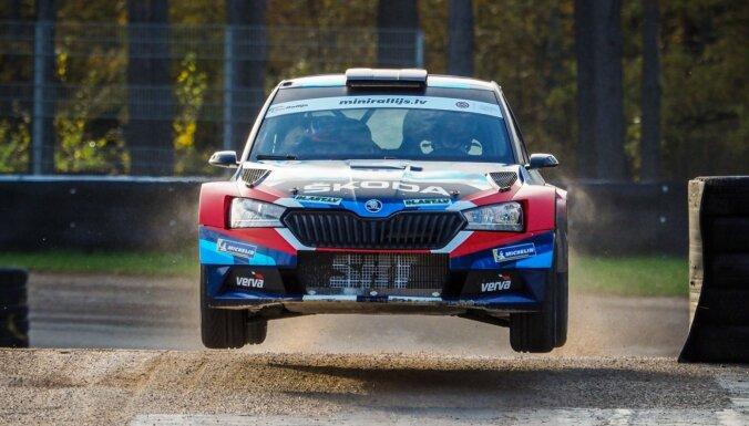 Latvijas rallija sezona noslēdzas ar Polijas ekipāžas uzvaru minirallijā Biķernieku trasē