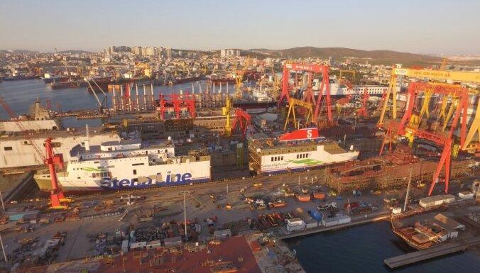 'Stena Line' devusi vārdus kuģiem, kas kursēs Baltijas jūrā