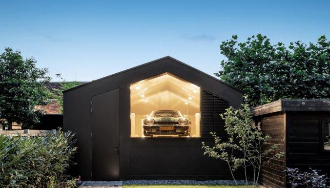 Foto: Ar skatu uz 'Jaguar' – dizaina dzīvoklis Amsterdamā