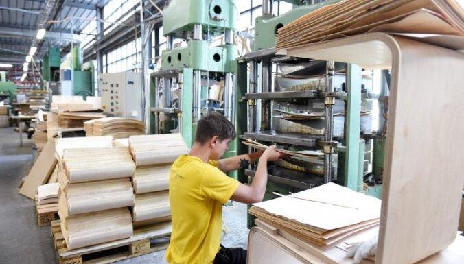 Oktobrī rūpniecības apjoma pieaugums bijis 3%
