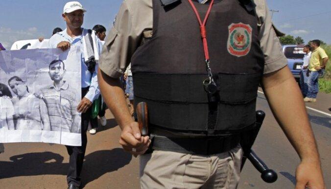 Nošauts Paragvajas bezzemnieku kustības līderis