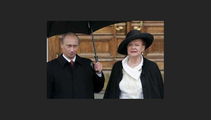 Президенты России и Латвии
