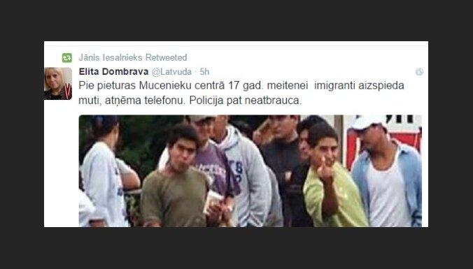 'Imigranti aizspieda muti...' – sociālajos tīklos izplatās viltus ieraksts par bēgļiem Muceniekos