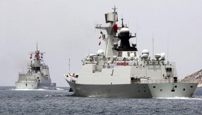 Китай на дебютных учениях оскорбил американцев кораблем-шпионом