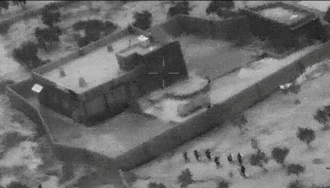 ASV publicē al Bagdadi nogalināšanas operācijas video