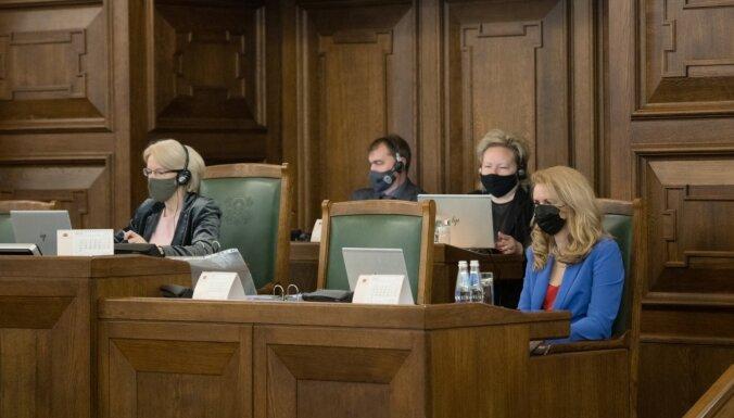 Pēdējā brīdī Saeima uzdod valdībai izstrādāt kārtību, kā hokeja čempionātā ielaist skatītājus